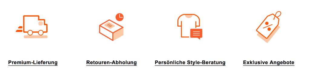 Zalando plus Kundenbindungsprogramm